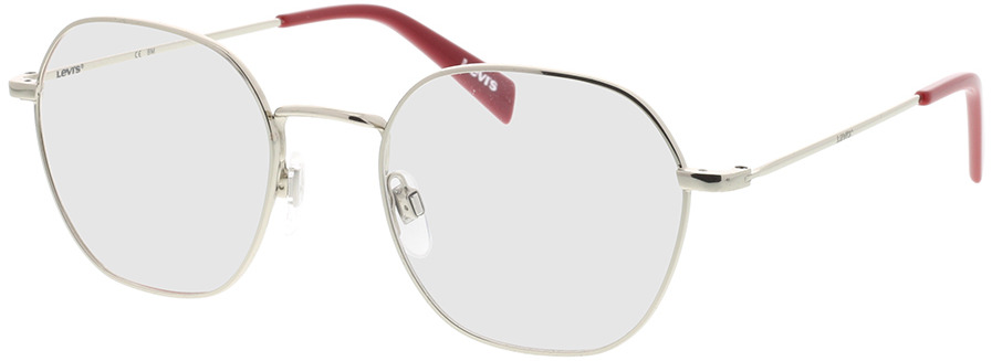 Picture of glasses model Levi's LV 1009 010 51-20 in angle 330