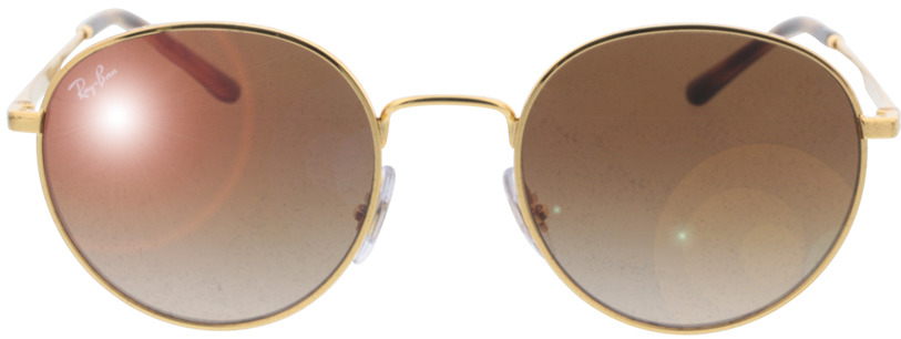 Picture of glasses model Ray-Ban RB3681 001/13 50-20 in angle 0