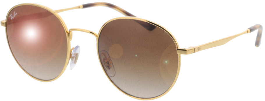 Picture of glasses model Ray-Ban RB3681 001/13 50-20 in angle 330