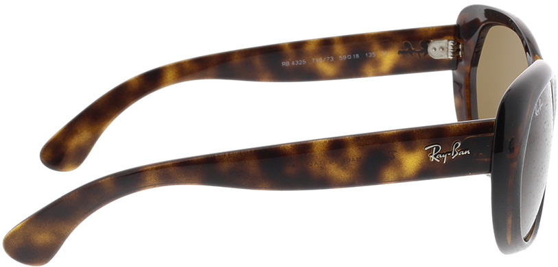 Picture of glasses model Ray-Ban RB4325 710/73 59-18 in angle 90