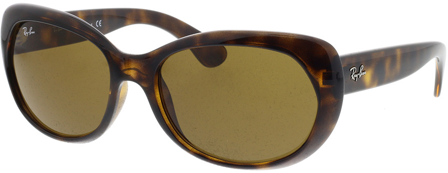 Picture of glasses model Ray-Ban RB4325 710/73 59-18 in angle 330