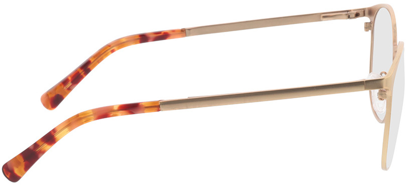 Picture of glasses model Caddy-or in angle 90