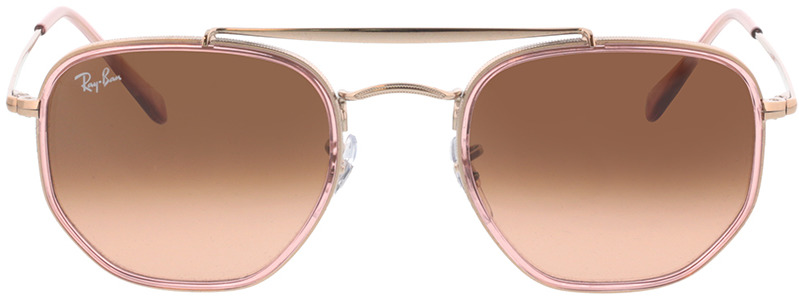 Picture of glasses model Ray-Ban RB3648M 9069A5 52-23 in angle 0