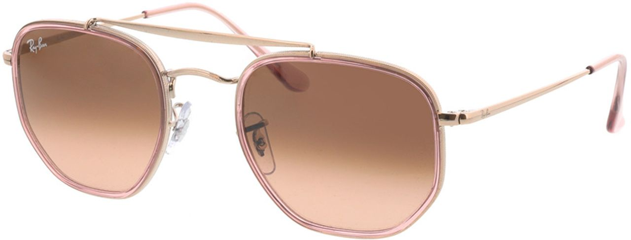 Picture of glasses model Ray-Ban RB3648M 9069A5 52-23 in angle 330