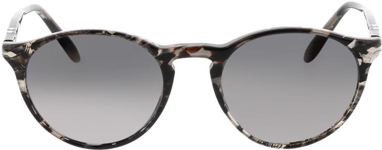 Picture of glasses model Persol PO3092SM 9057M3 50-19 in angle 0