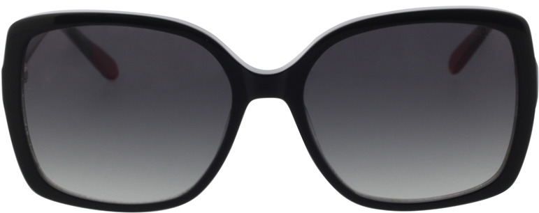 Picture of glasses model Comma, 77104 30 schwarz rot  54-16 in angle 0