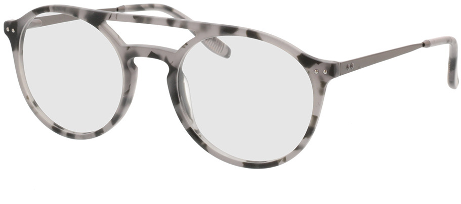 Picture of glasses model Vito-grau-meliert/anthrazit in angle 330