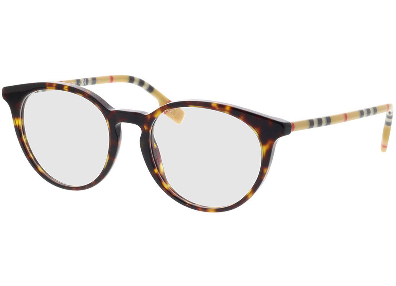 8056597167024 Burberry BE2318 3854 51-18 Brillengestell inkl. Gläser, Damen, Vollrand, Rund
