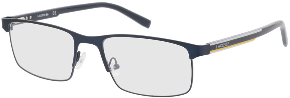 Picture of glasses model Lacoste L2271 424 56-19 in angle 330
