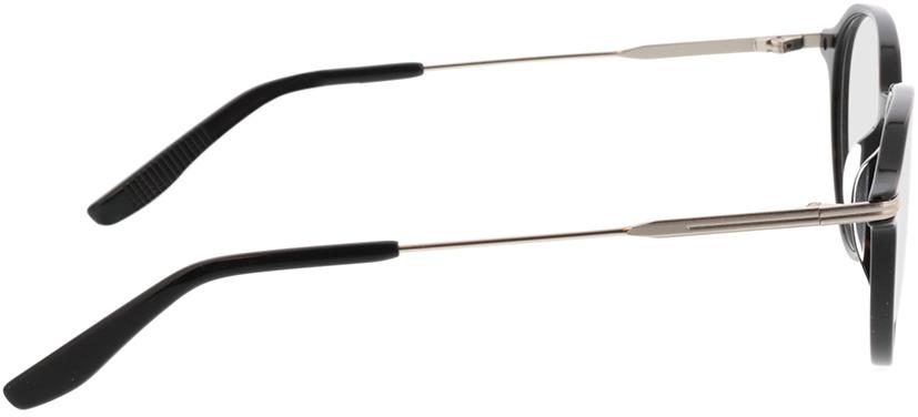 Picture of glasses model Piero-schwarz in angle 90