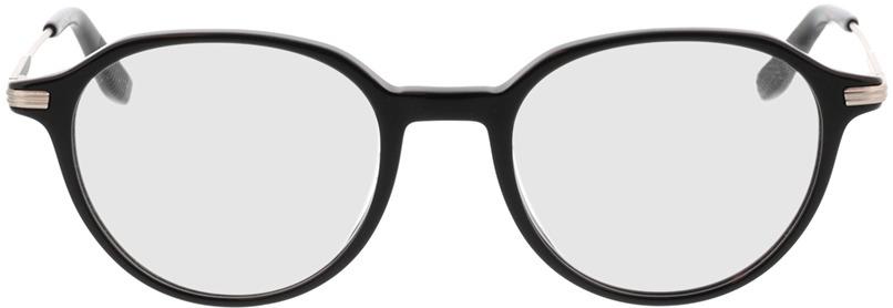Picture of glasses model Piero-schwarz in angle 0