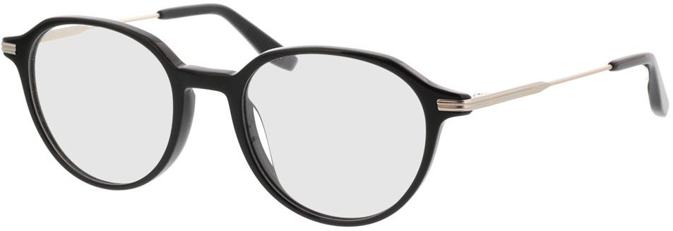 Picture of glasses model Piero-schwarz in angle 330