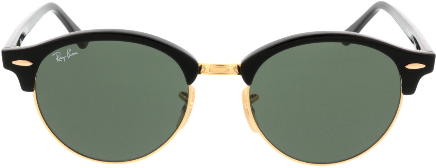 Picture of glasses model Ray-Ban Clubround RB4246 901 51 19 in angle 0