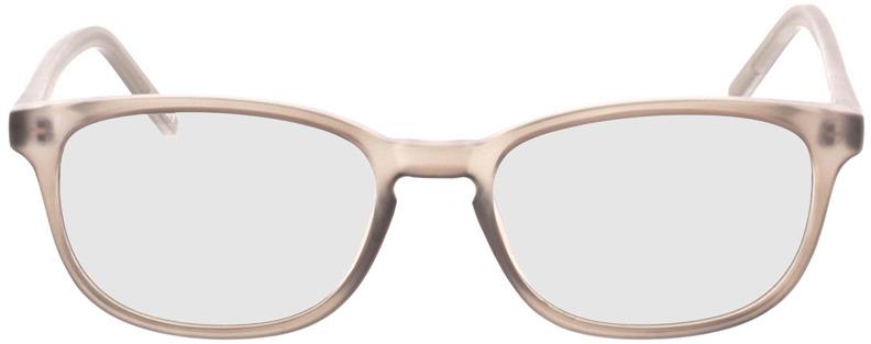 Picture of glasses model Janus-matt grau-transparent in angle 0