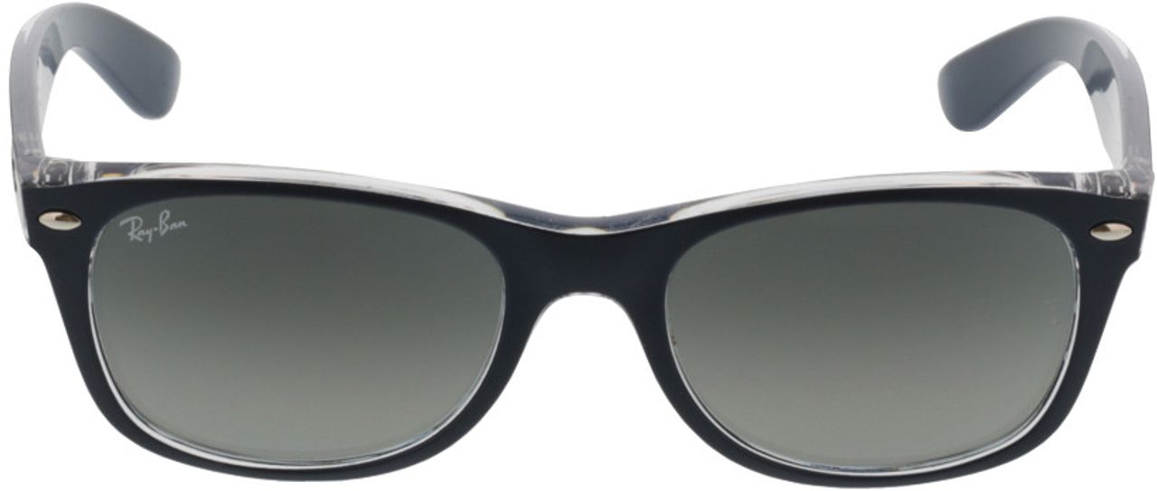 Picture of glasses model Ray-Ban New Wayfarer RB2132 605371 52-18 in angle 0