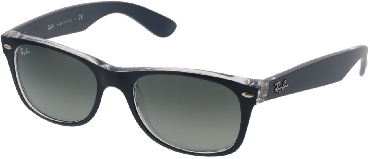 Picture of glasses model Ray-Ban New Wayfarer RB 2132 605371 52-18 in angle 330