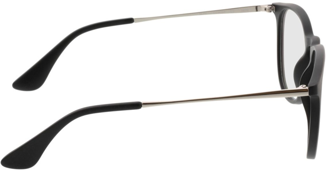 Picture of glasses model Jacksonville-mattschwarz in angle 90