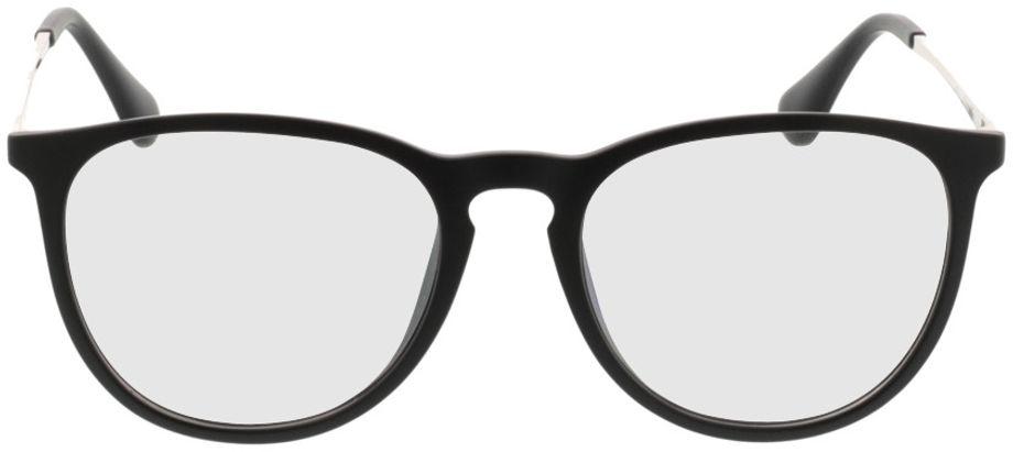 Picture of glasses model Jacksonville-mattschwarz in angle 0