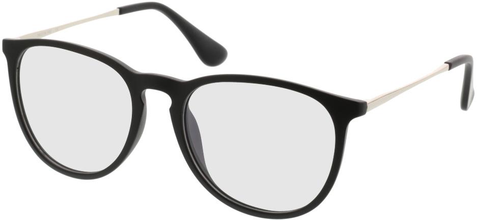 Picture of glasses model Jacksonville matt/black in angle 330