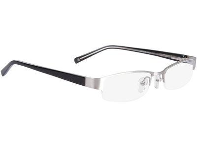 Brille Norwich-silber/schwarz