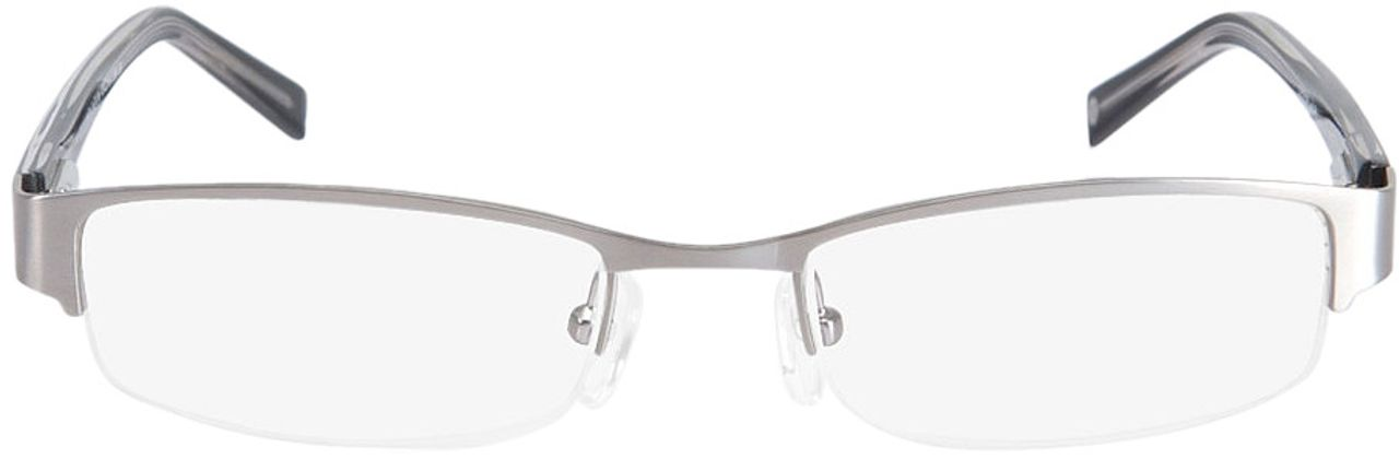 Picture of glasses model Norwich black/silver in angle 0