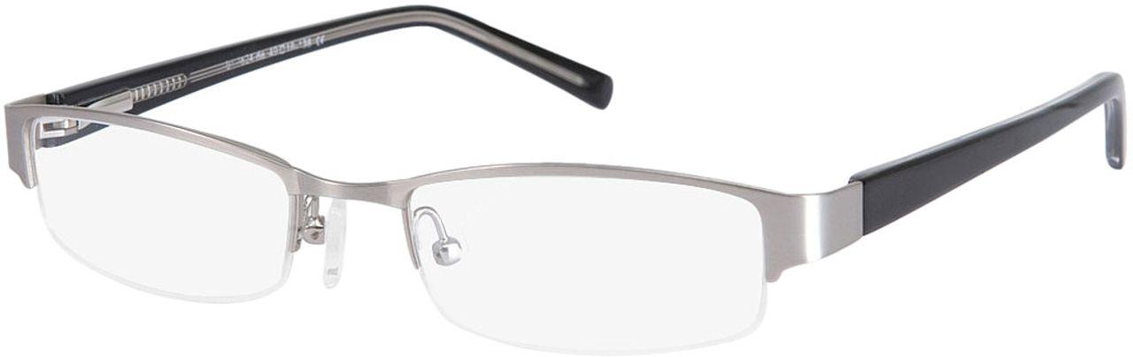 Picture of glasses model Norwich black/silver in angle 330