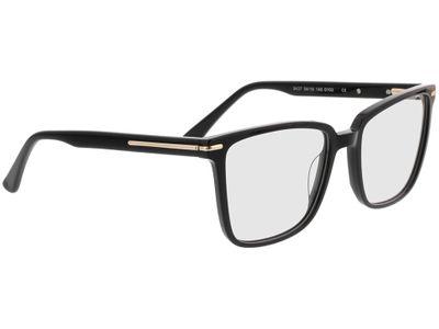 Brille Melso-schwarz