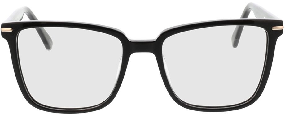 Picture of glasses model Melso-schwarz in angle 0