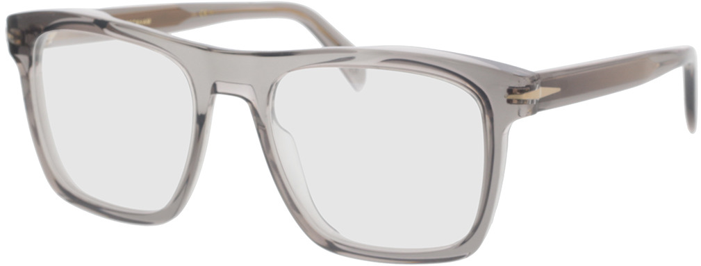Picture of glasses model David Beckham DB 7020 KB7 53-20 in angle 330