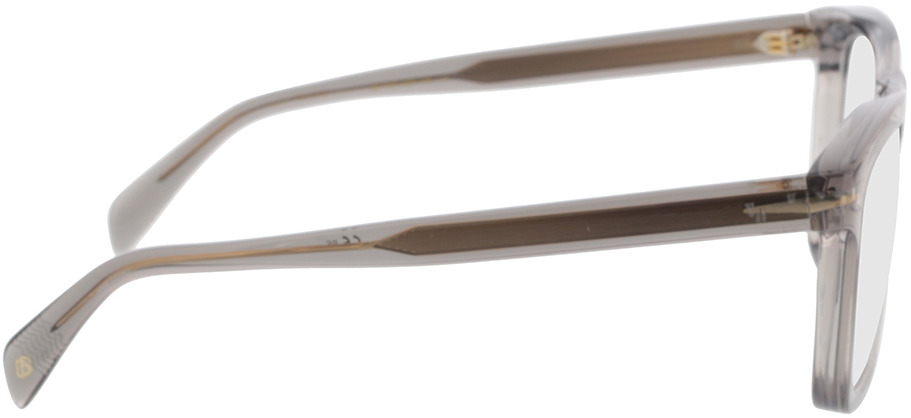 Picture of glasses model David Beckham DB 7020 KB7 53-20 in angle 90