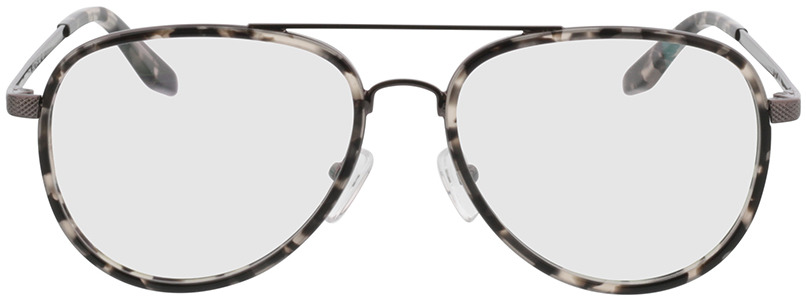 Picture of glasses model Long Beach Grijs/gevlekt/pulver in angle 0