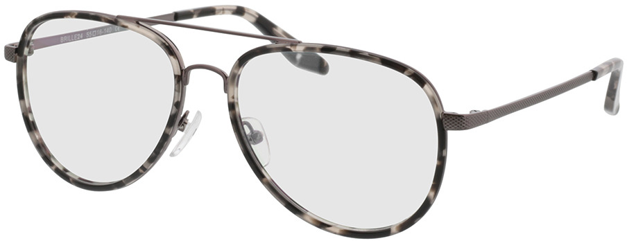 Picture of glasses model Long Beach Grijs/gevlekt/pulver in angle 330