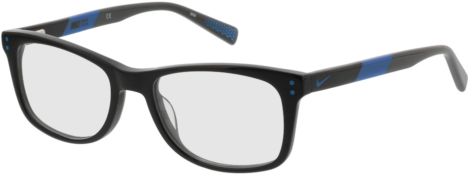Picture of glasses model Nike NIKE 5538 013 49-17 in angle 330