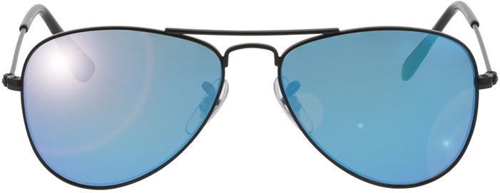 Picture of glasses model Ray-Ban Junior RJ 9506S 201/55 in angle 0