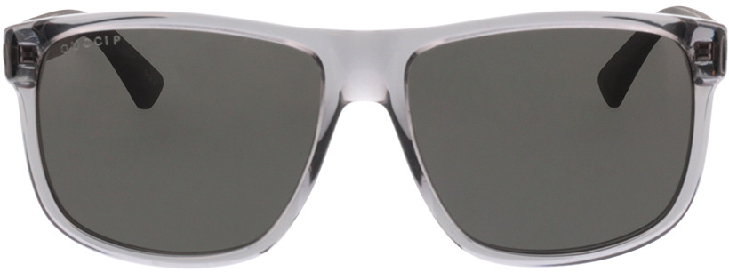 Picture of glasses model Gucci GG0010S-004 58-16 in angle 0