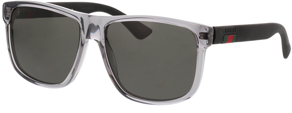 Picture of glasses model Gucci GG0010S-004 58-16 in angle 330