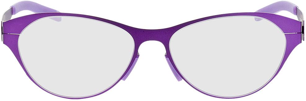 Picture of glasses model Kopenhagen-lila in angle 0