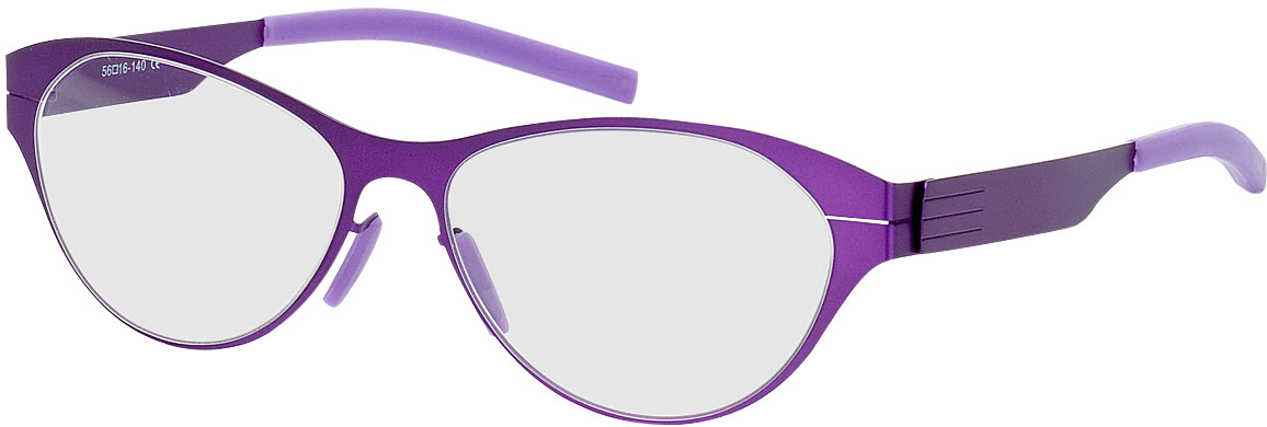 Picture of glasses model Kopenhagen-lila in angle 330