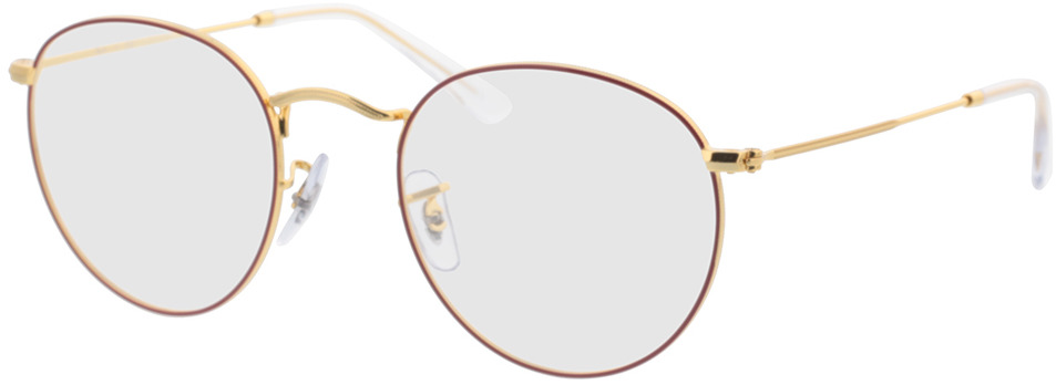 Picture of glasses model Ray-Ban RX3447V 3106 50-21 in angle 330