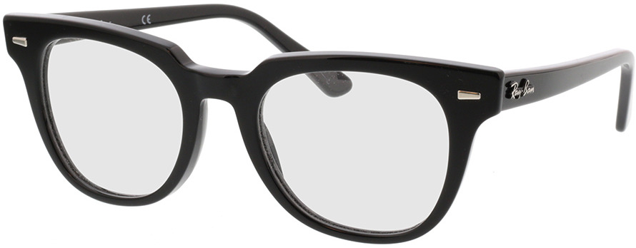 Picture of glasses model Ray-Ban Meteor RX5377 2000 50-20 in angle 330