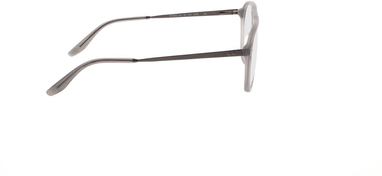 Picture of glasses model Pablo-matt grau-transparent in angle 90