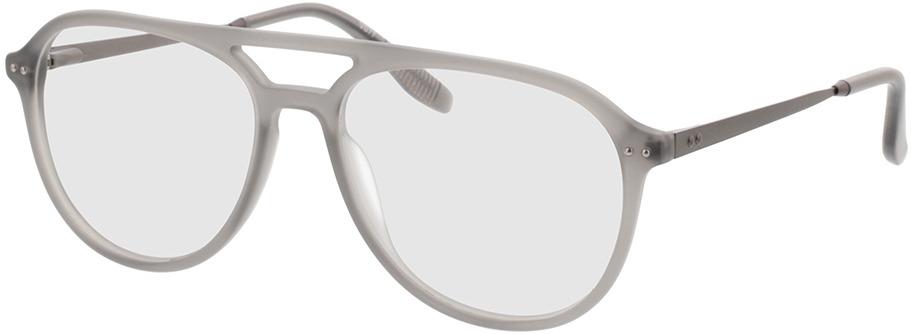 Picture of glasses model Pablo-matt grau-transparent in angle 330