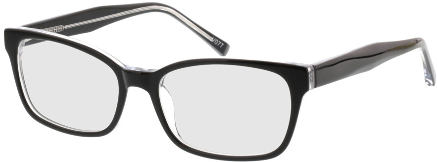 Picture of glasses model Gustelle-schwarz transparent in angle 330