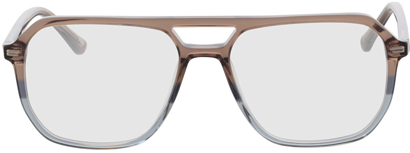 Picture of glasses model Clyde-braun/blau in angle 0