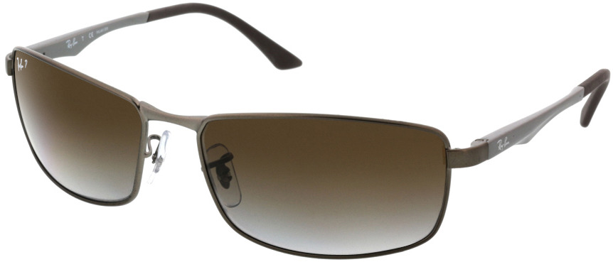 Picture of glasses model Ray-Ban RB3498 029/T5 61-17 in angle 330