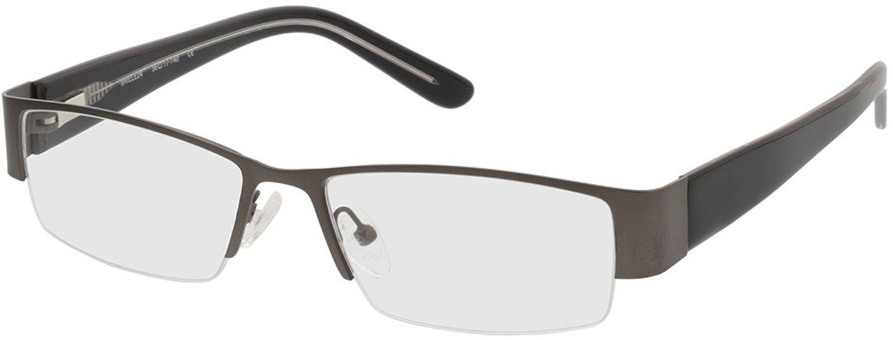 Picture of glasses model Billund silvergrey/black in angle 330