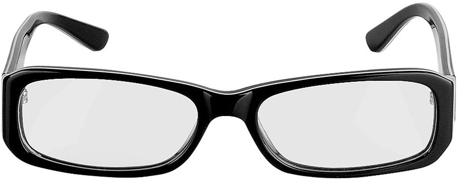 Picture of glasses model Bagheria-black in angle 0