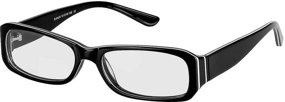 Picture of glasses model Bagheria-black in angle 330