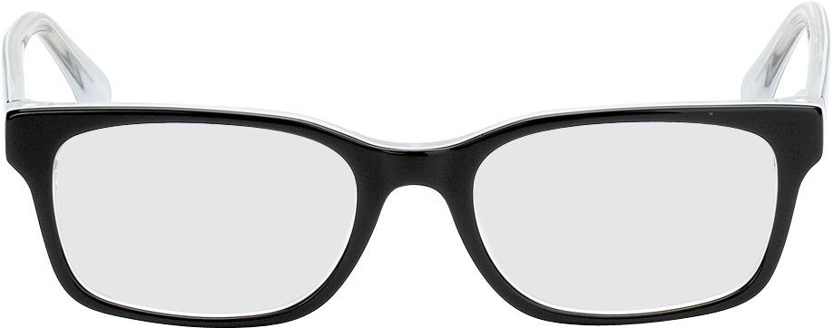 Picture of glasses model Motala black/white in angle 0