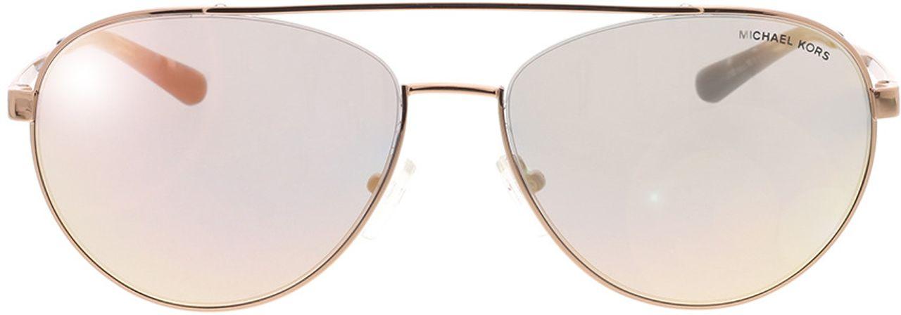 Picture of glasses model Michael Kors MK1071 11084Z 59-16 in angle 0